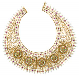 Taj necklace - LSN15001