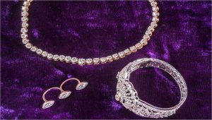 White wedding jewellery from ORRA