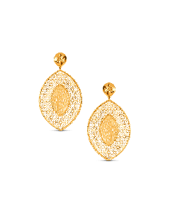 Bella Gold Hanging Earring