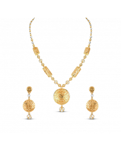 Bella Gold Set Necklace