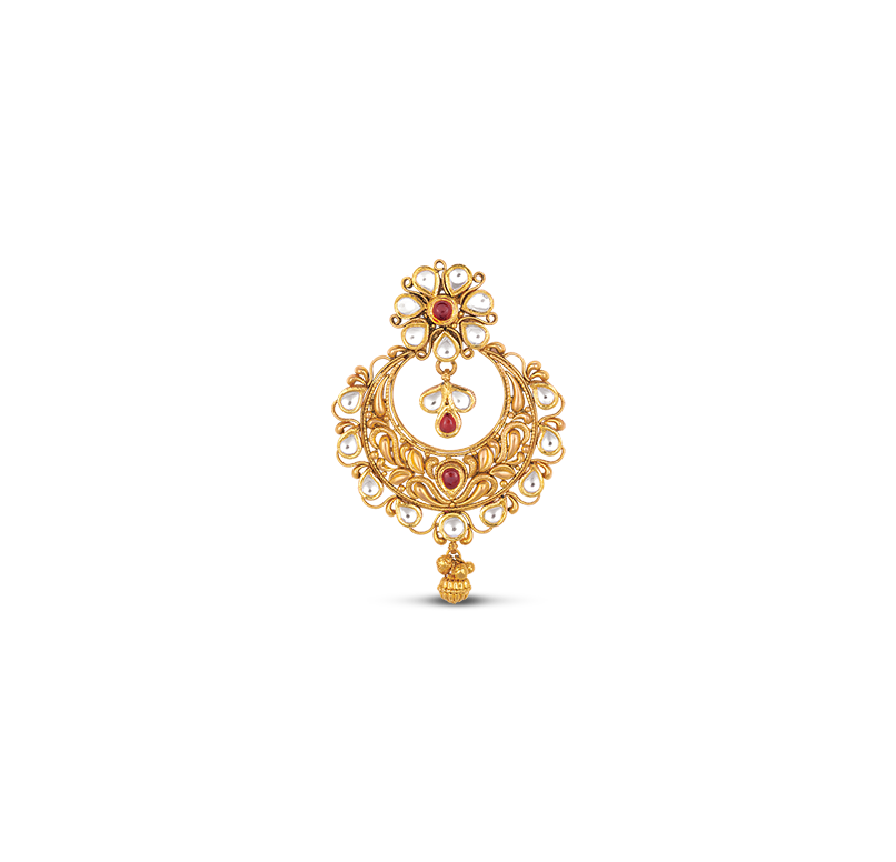 Antara Chandelier Gold Earring
