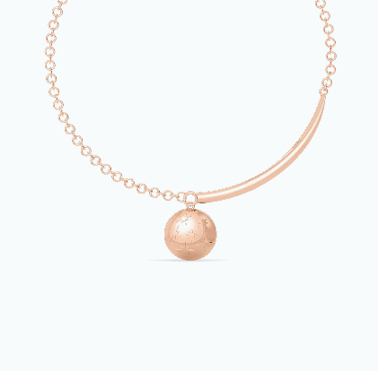 DESIRED Gold Starry Choker Necklace