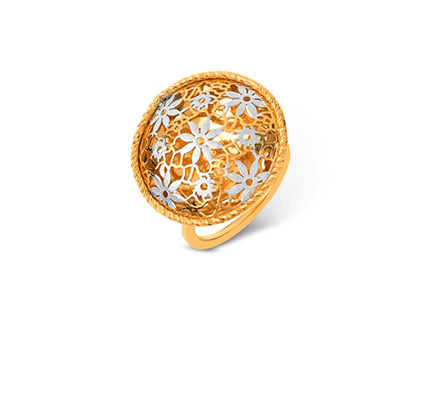 Bella Gold Ring For Her