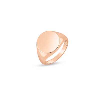 DESIRED Gold Round Pinky Ring