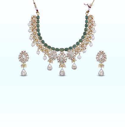 ORRA Polki Set Necklace