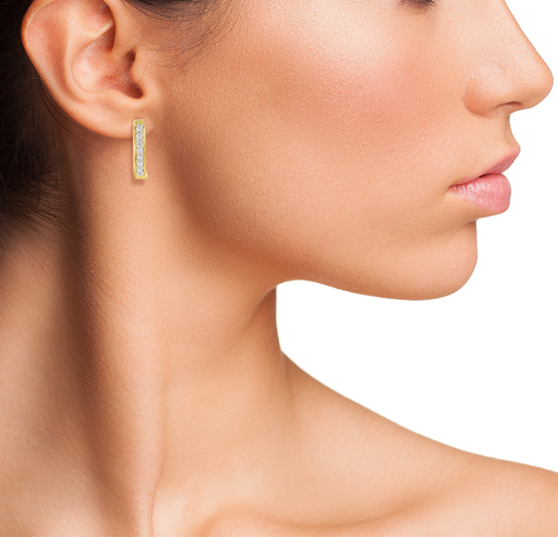 Youth Hoop Earring