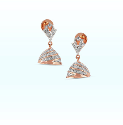 Astra Diamond Jhumki Earring