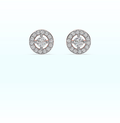Astra Diamond Stud Earring