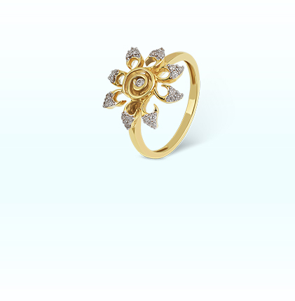 Sunburst Ring For Her