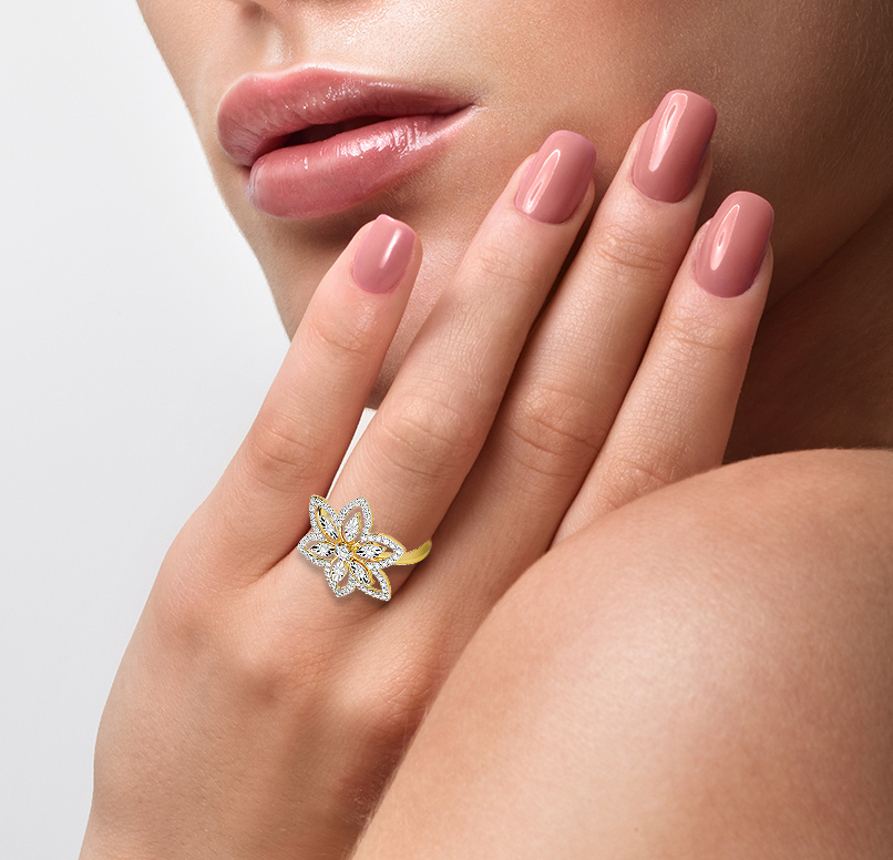Florus Ring For Her