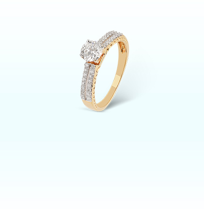 ORRA Diamond Semi Mount Ring For Her