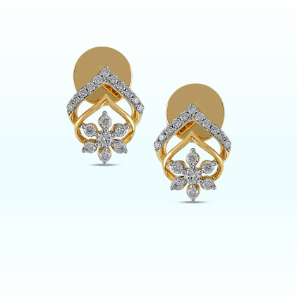Astra Coral Passion Stud Earring