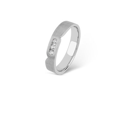 ORRA Platinum Ring For Him