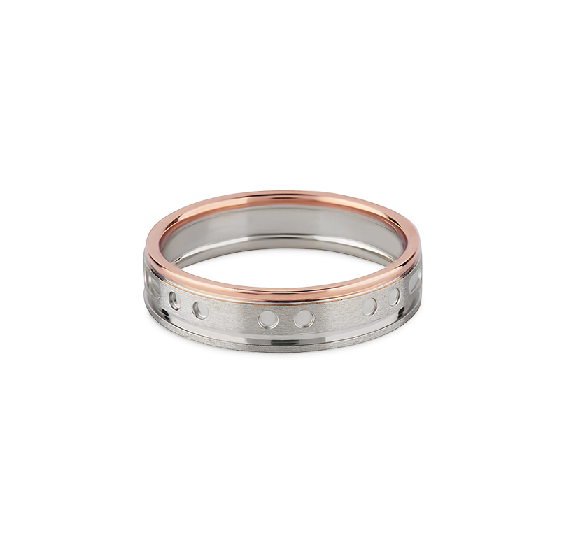 FEAST Morse Code Ring For Her