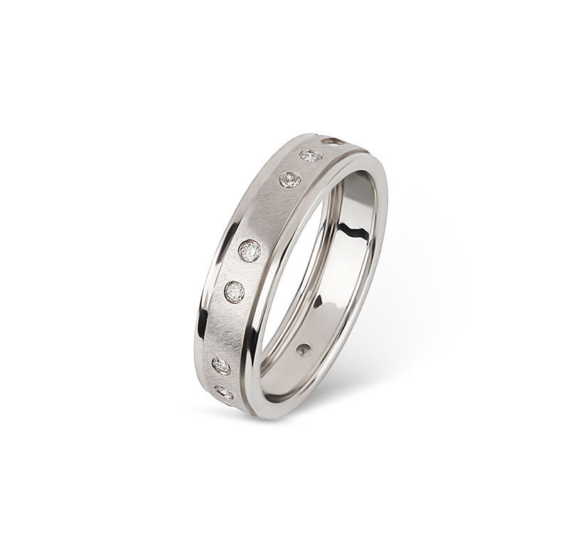 FOLD Morse Code Ring For Her