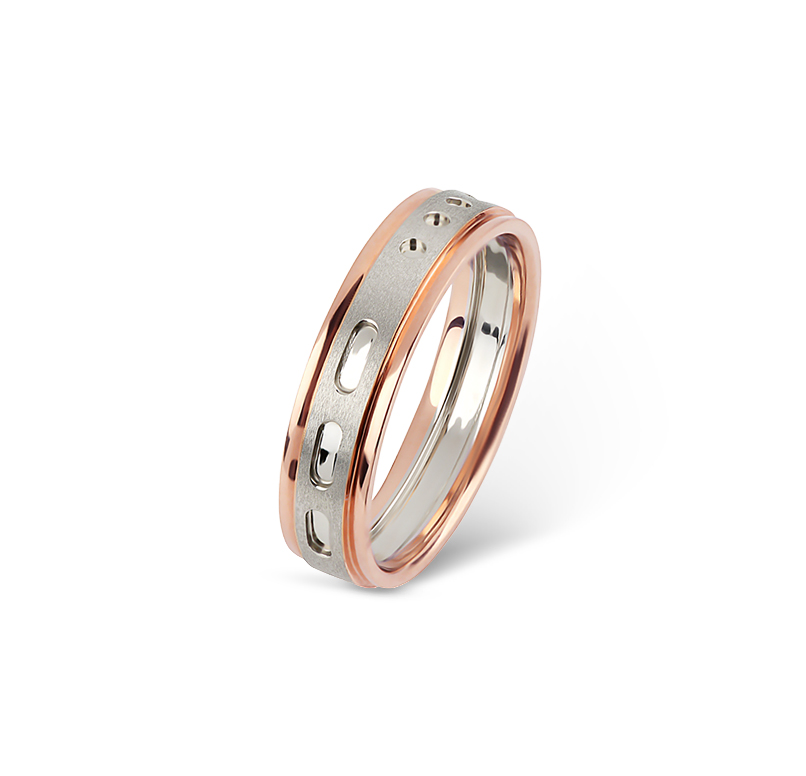 WISPY Morse Code Ring For Her