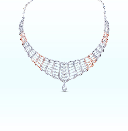 ORRA Platinum Necklace